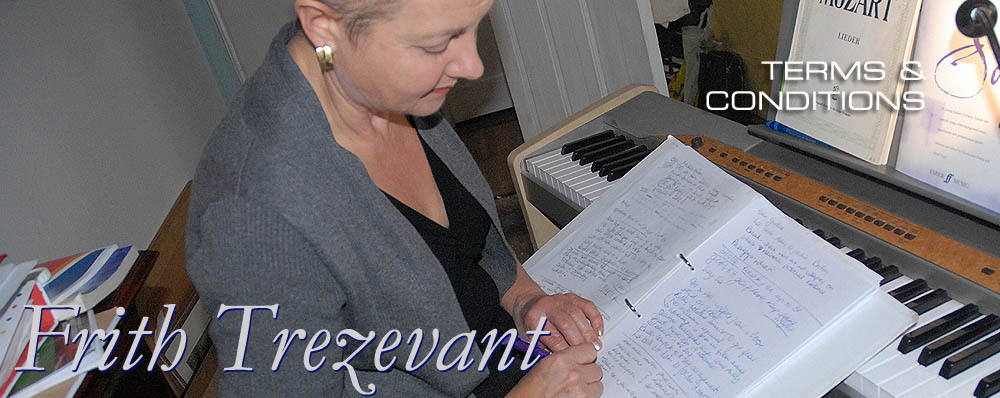 Frith Trezevant: Singing Teacher based in Bristol, providing Singing Lessons in Bristol and the South West. Image shows Frith making notes during a teaching session.